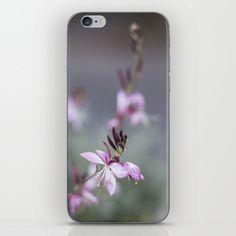 Little Pink Flower iPhone & iPod Skin  from FloraInspiro SHOP http://shop.florainspiro.com