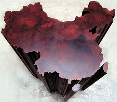 an artwork entitled 'map of China' by Chinese dissident Artist Ai Weiwei