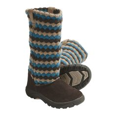 Keen Auburn Boots - Suede, Sweater-Knit Shaft (For Kids and Youth) - Save 66%