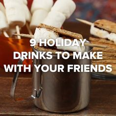 9 Holiday Drinks To Make With Your Friends || Hot Chocolate || Coffee || Cider
