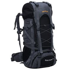 580b0eced9ce Special Offers - iBaste Extra Large 70L Hiking Backpack Lightweight  Shockproof Strap Outdoor Backpack Waterproof -