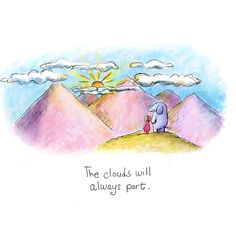 today's doodle: the clouds will part