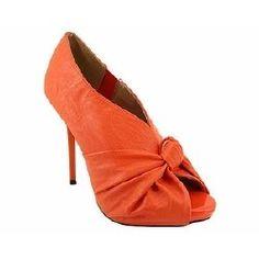 the cutest orange shoes!
