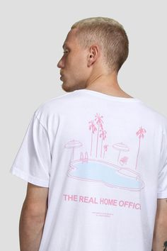 CAMISETA HOME OFFICE / Birden Co. delivers online tools that help you to stay in control of your personal information and protect your online privacy. Shirt Logo Design, Tee Shirt Designs, T Shirt Surf, Printed Shirts, Tee Shirts, Trendy Hoodies, No Rain No Flowers, Simple Shirts, Graphic Tees