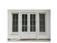 Marvin Ultimate Wineberry Clad French Door with Transom Windows ...