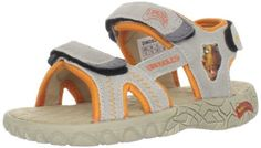 Dinosoles W3D T-Rex Strap Sandal (Toddler/Little Kid/Big Kid) Dinosoles. $29.95. Rubber sole. Made in China. Leather and Fabric