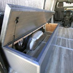 Sprinter Van Convertible Folding Dinette and Bed Ford Transit Campervan, Campervan Bed, Campervan Interior, Camper Beds, Truck Bed Camper, Diy Camper, Cargo Trailer Conversion, Camper Van Conversion Diy, Sprinter Van