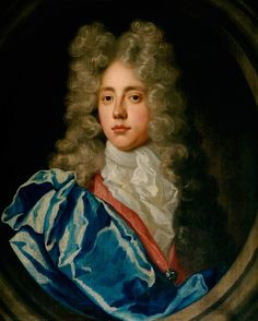 Young Big Wig! Portrait of a Young Man  by Michael Dahl I (circle of) (1659-1743)