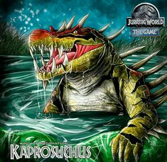 Jurassic World KAPROSUCHUS by wingzerox86