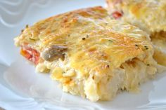 karfiol recepty Lasagna, Food And Drink, Healthy Recipes, Ethnic Recipes, Fit, Shape, Healthy Eating Recipes, Healthy Food Recipes, Clean Eating Recipes
