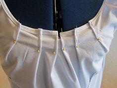 DIY shirt refashion tutorial...hmm, gives me a couple of ideas