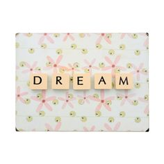 Dream Letter Wall Art