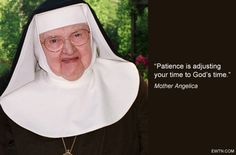 #ThursdayThought #MotherAngelica #EWTN