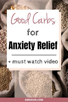 Carbs and anxiety? Carbohydrates can help you manage anxiety, but there are good carbs and bad carbs. Learn how to choose best carbs for mental health | amosuir.com | Anti-anxiety diet, Carbs anxiety, carbohydrates and anxiety, ketogenic diet and anxiety, keto diet and anxiety, low carb diet and anxiety, ketogenic diet anxiety, anxiety relief food, anxiety relief remedies, anxiety relief natural home remedies, natural anxiety remedy, health anxiety remedies, reduce anxiety naturally Foods For Anxiety, How To Calm Anxiety, Health Anxiety, Stress And Anxiety, Mental Health, Good Source Of Carbs, Good Carbs, Natural Anxiety Relief, Natural Remedies For Anxiety