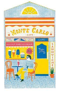 Louise Lockhart aka The Printed Peanut | Illustrazioni Seriali