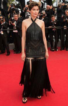 Laetitia Casta in Givenchy Couture - Cannes Film Festival 2015   Harper's Bazaar