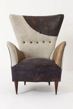 Furniture - Partial Eclipse Armchair - Anthropologie