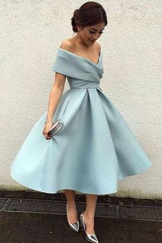 Elegant Knee Length Prom Dresses 167a24225098