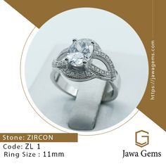 Zircon Ring ZL 11 #Zircon ₨ 3,500 For more details whatsapp on 03159477284 Free Delivery all over Pakistan The shine of Zircon can get rid of negative energy. You would be able to have a bright and positive power from it. It is also useful to heal negative feelings such as anxiety or fear. #JawaGems #Jawa #Zircon #ZirconRing #Zirconbracelet #ZirconRing #Zirconnecklace #Zirconpendent #Zirconearring #Stone #ZirconStone #Diamond #Zamurd #Neelum #Yakooot #Lapis #BuyOnline #Luckystone #gemstone
