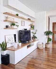 Living Room Interior, Home Living Room, Living Room Decor, Indian Living Rooms, Small Apartment Living, Home Room Design, Home Interior Design, Interior Ideas, Living Room Tv Unit Designs