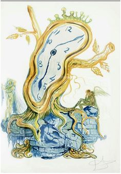 Stillness of Time 1976. Dali