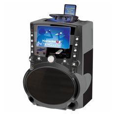"""USA GF757 DVD/CDG/MP3G Karaoke System with 7"""" TFT Color Screen"""