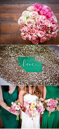 I wish I could sprinkle glitter all over our wedding.
