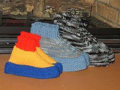 Easy Knitting Pattern For Short Row Slippers : Knitting Pattern For Short Row Slippers knit - crochet ...