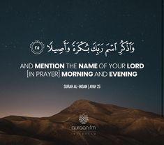 Quran Verses, Quran Quotes, Islamic Quotes, Allah Love, Prayer Quotes, Hadith, Cool Words, Religion, Prayers
