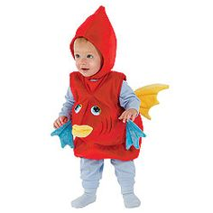 fish costume - i could make something like this...