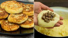 Cele mai originale chiftele din cartofi cu surpriză, care o să te cucerească din prima! - savuros.info Mai, Mashed Potatoes, Muffin, Supe, Cooking, Breakfast, Ethnic Recipes, Food, Whipped Potatoes