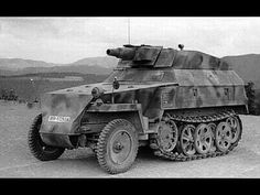 Sdkfz250 with a shortbarreled75mm. This would be afairlyversatile little setup.