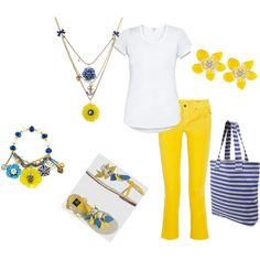 Yellow and Blue :)
