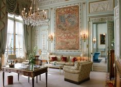 Windsor Suite, Ritz Paris.  Thanks Vintageweave!