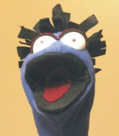 haha, awesome hand puppet!