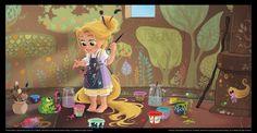i love rapunzel:)