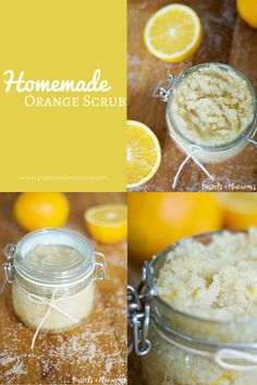 Homemade Orange Scru