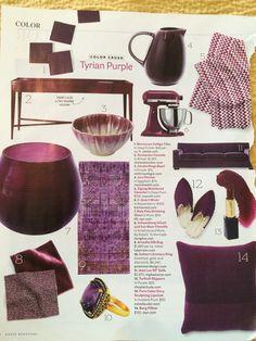 Plum Lipstick, Color Blocking, Sculpting, Beautiful Homes, Purple, Furniture, House Of Beauty, Sculpture, Sculptures