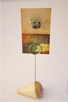 Lampwork bead.