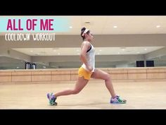 John Legend - All Of Me (Dance Fitness with Jessica) - chryssafitnes Zumba Workout Videos, Best Workout Videos, One Song Workouts, Fun Workouts, Dance Workouts, Zumba Videos, Exercise Videos, Body Workouts, Dance Videos