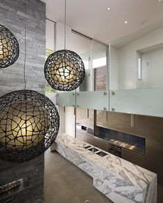 View breathtaking projects and find inspiration through our Project Gallery. Statuario Marble, Natural Stones, Ceiling Lights, Kitchen Cabinetry, Projects, Kitchens, House, Inspiration, Furniture