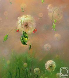 "Pictura in ulei pe panza. Velichko Roman. "" La revedere, vară !"" (Fragment) Roman, Make A Wish, The Dreamers, Flora, Digital Art, Canvas, Artwork, Photography, Painting"