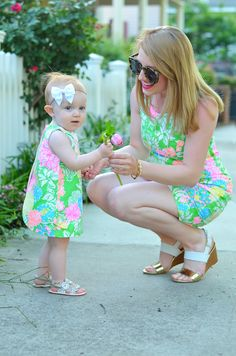 Mother Daughter In Lilly Pulitzer
