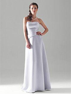 RIONA - Vestido de Casamento e Madrinha em Cetim