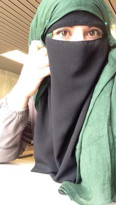 My own Niqab style.