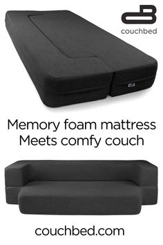The comfort of a cool-gel memory foam mattress and the functionality of 2 pieces. - The comfort of a cool-gel memory foam mattress and the functionality of 2 pieces of furniture. Diy Interior, Interior Design, Dorm Rooms, Play Rooms, Remodeled Campers, Foam Mattress, First Home, My New Room, Cool Furniture