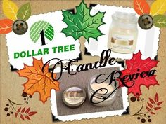 DOLLAR TREE CANDEL REVIEW - YouTube