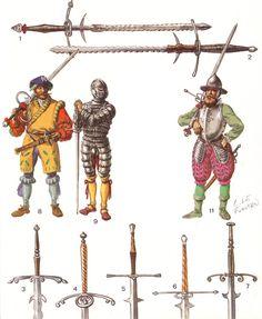 Landsknecht longswords