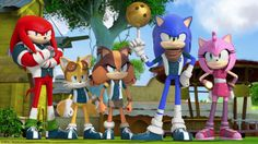 """""""When the Lightning Bolt Society rumbles in, leave it to the PinDashers to fend them off. Watch """"Lightning Bowlers Society"""" tomorrow on Sonic Boom, airing at 6pm on Boomerang."""""""