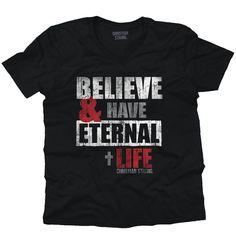 Eternal Life V-Neck T-Shirt